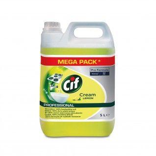 Cif Pro Formula Creme Limão 2 x 5 Litros