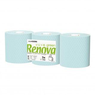 Toalhas de Mão Barril Renova 210 180m 2 Folhas Azul