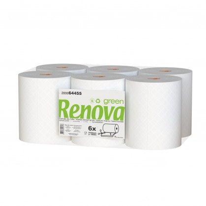 Toalhas de Mão Renovagreen Corte Automático 1 Folha
