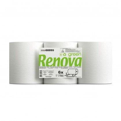 Toalhas de Mão Renovagreen Corte Automático 2 Folhas