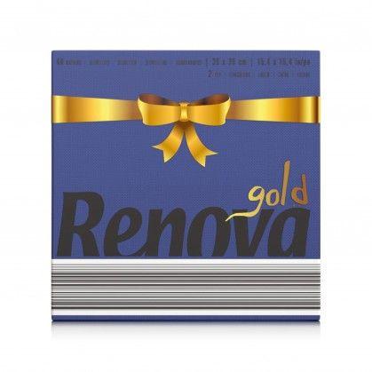 Guardanapos Renova Gold Azul