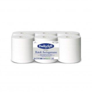 Toalhas de Mão em Rolo BulkySoft Premium 150m 2 Folhas