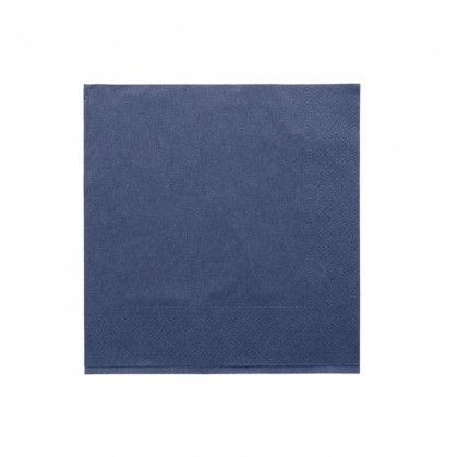 Guardanapos Ecolabel 2 Folhas 18 gr/m2 39 x 39 cm Azul Marin