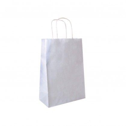Sacos SOS com Asas 80 gr/m2 20 + 10 x 29 cm Branco Celulose