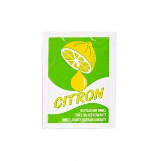 "Toalhitas Refrescantes ""Citron"" 6 x 8 cm Branco Celulose"
