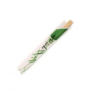 Pauzinhos Chineses Embalados 20 cm Bambu