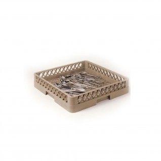 Rack para Lava-Louças para Talheres 50 x 50 x 10 cm Beige PP