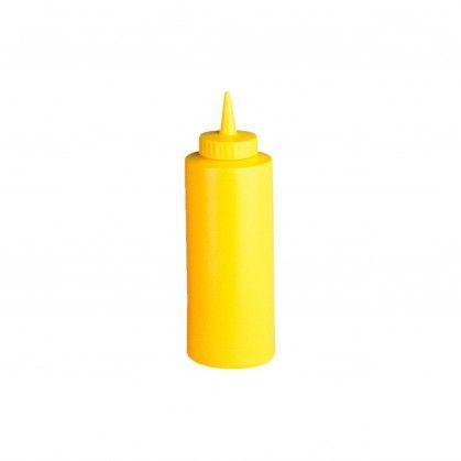 Bisnagas para Molhos 360 ml Ø 6 x 18,2 cm Amarelo PEHD