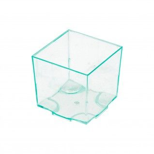 Cubo para Tapas e Snacks 4,2 x 4,2 x 4,2 cm PS