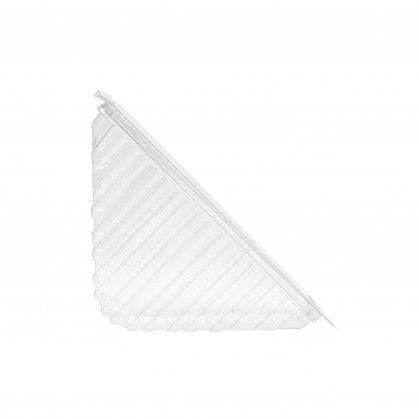 Caixa Sandwich Triangular 11 x 11 x 5,5 cm Transparente rPET