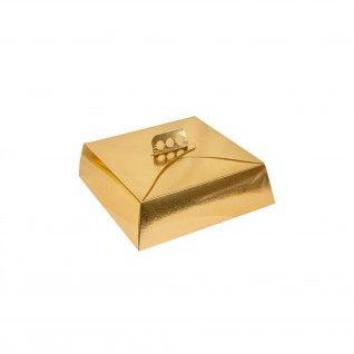 Caixa para Tartes 34 x 34 x 10 cm Cartão