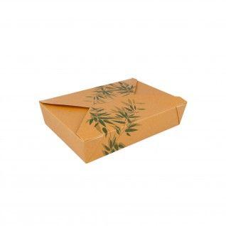 """Caixas Americanas para Micro-ondas """"Feel Green"""" 1470 ml 19,8"""