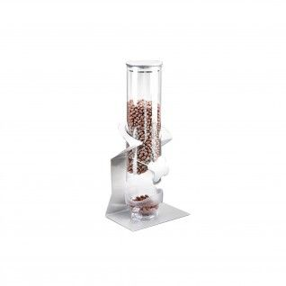 Dispensador de Cereais 16,5 x 12 x 38,5 cm Transparente Acrí