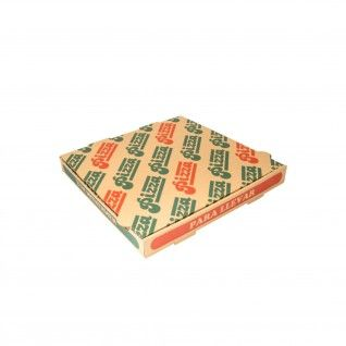 Caixas Pizza Micro-Caneladas Ecológicas 350 gr/m2 29 x 29 x