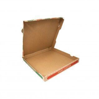 Caixas Pizza Micro-Caneladas Ecológicas 350 gr/m2 32 x 32 x