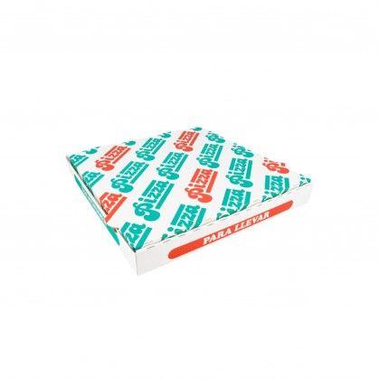 Caixas Pizza Micro-Caneladas 348 gr/m2 29 x 29 x 3,5 cm Bran