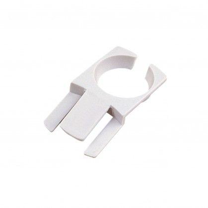Porta-Copos Fixar ao Prato 7,5 x 4,2 cm Branco Plástico