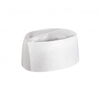 Gorro de Cozinha Ajustável Barco 28 cm Branco Papel
