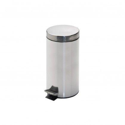 Caixote Lixo Pedal com Balde Interior 12 L Ø 25 x 38 cm Prat