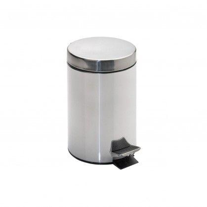 Caixote Lixo Pedal com Balde Interior 20 L Ø 29,5 x 44 cm Pr