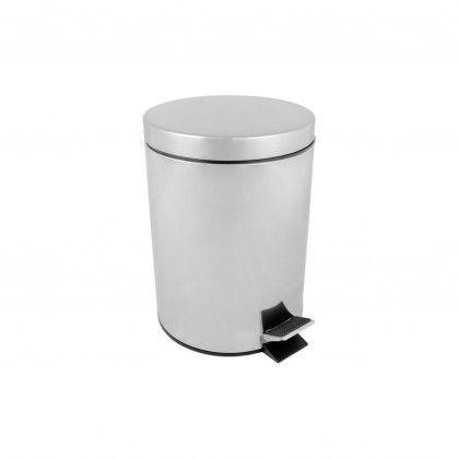 Caixote Lixo Pedal com Balde Interior 5 L Ø 20,5 x 28 cm Pra