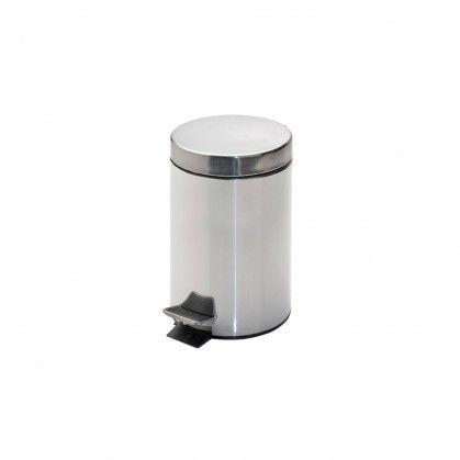 Caixote Lixo Pedal com Balde Interior 3 L Ø 17 x 24,5 cm Pra