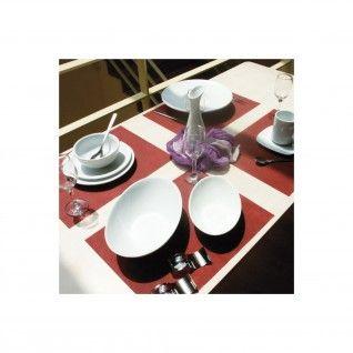 """Toalhas de Mesa """"Spunbond"""" 60 gr/m2 30 x 40 cm Bordeaux PP"""