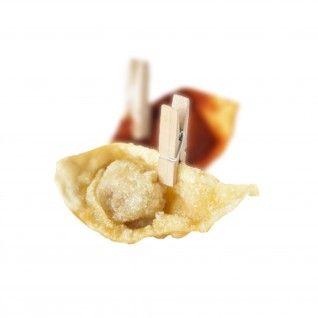 Mini Pinça 2,5 cm Madeira
