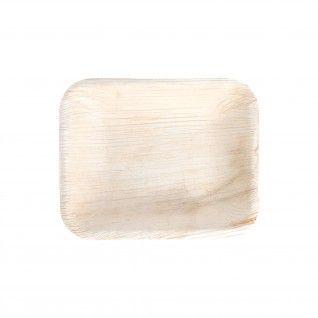 """Bandejas Retangulares """"Areca"""" 16 x 12,5 x 3 cm"""