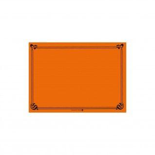 Toalhas de Mesa 48 gr/m2 31 x 43 cm Laranja Celulose