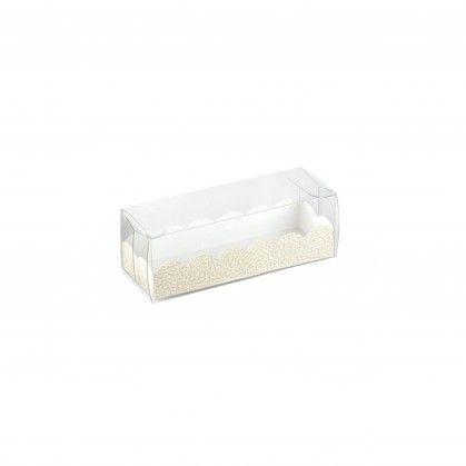 Caixa Pastelaria + Base Cartolina 16 x 5 x 5 cm PVC