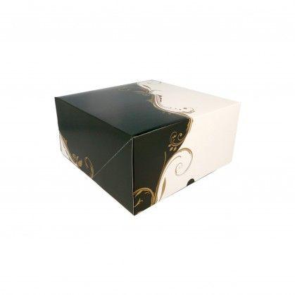 Caixa para Pastelaria sem Janela 300 gr/m2 24 x 24 x 12 cm C