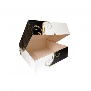Caixa para Pastelaria sem Janela 300 gr/m2 32 x 32 x 10 cm C