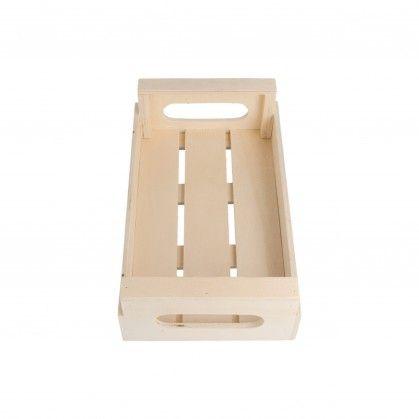 Mini Caixas Multipurpose 20,5 x 12,5 x 6,5 cm Madeira