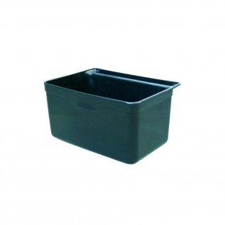 Caixote Pequeno para Carro Serviço 33,5 x 23,5 x 18 cm Preto