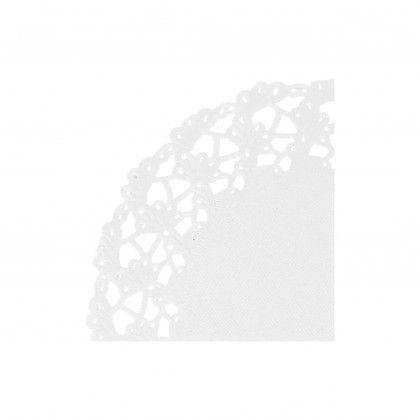 Naperon 53 gr/m2 Ø 11,5 cm Branco Papel