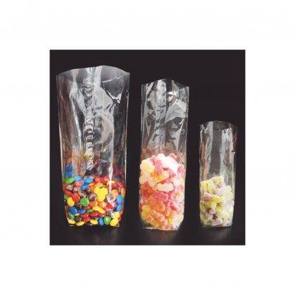 Sacos Neutros 32,5 gr/m2 9,5 x 21 cm Celofane
