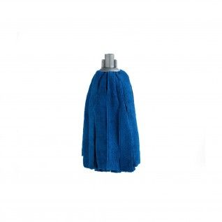 Esfregona de Tiras Microfibra 170 gr Azul