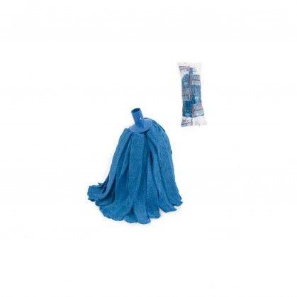 Esfregona Tiras Turcas Microfibras Azul 160 gr.