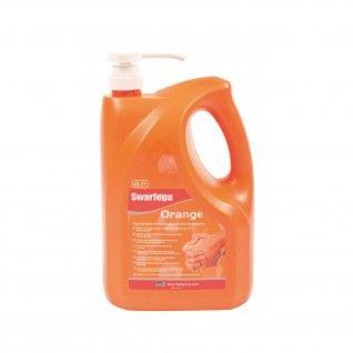 Swarfega® Orange com bomba doseadora 4 x 4 Litros