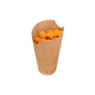 Copo Kraft com Fecho para Batatas Fritas