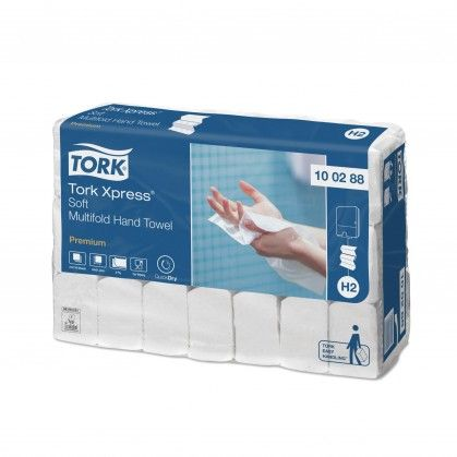 Tork Xpress® H2 Toalhas de Mão Interfolha Suave