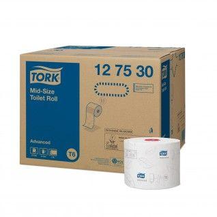 Tork Mid-size Rolo de Papel Higiénico Advanced T6