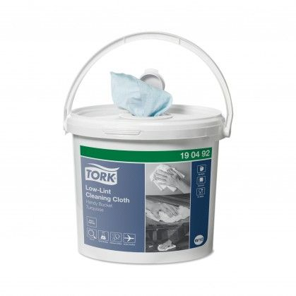 Tork Pano de Limpeza sem Residuos em Balde W10