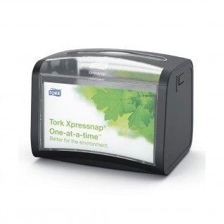 Tork Xpressnap® Mesa Dispensador de Guardanapos Preto