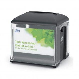 Tork Xpressnap® Snack Dispensador Guardanapos Preto