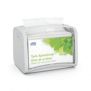 Tork Xpressnap® Mesa Dispensador de Guardanapos Cinza Claro