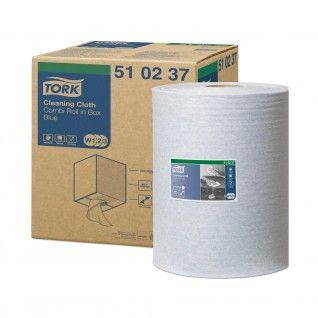 Tork Pano de Limpeza Azul 38 x 32 cm W1/W2/W3