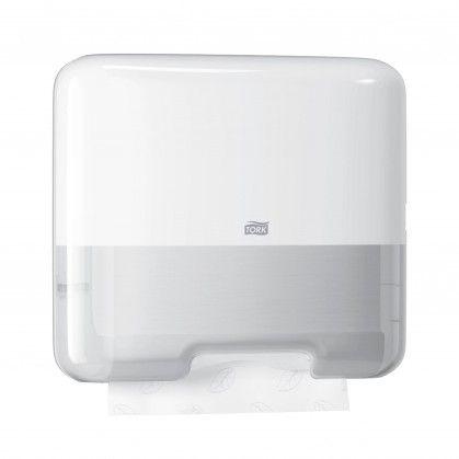 Tork Dispensador Mini H3 para Toalha Dobrada em Z/C Branco
