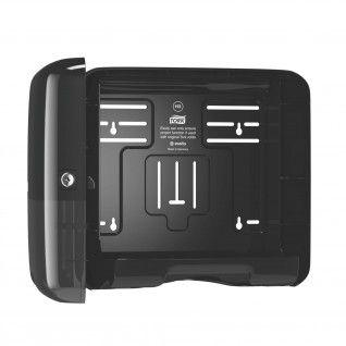 Tork Dispensador Mini H3 para Toalha Dobrada em Z/C Preto